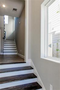 First Floor to Second Floor stairway