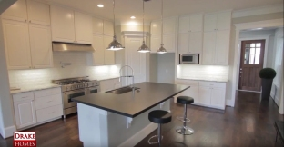 KItchen with stainless steel applicances