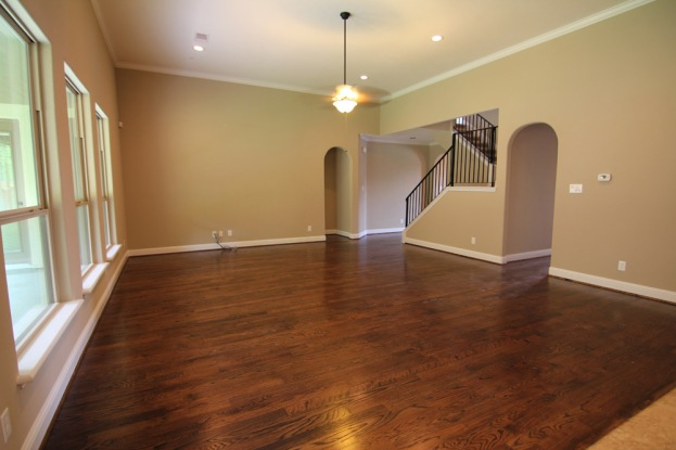 Wood floors - Tuscany Woods - by Drake Homes Inc., Now sold out.