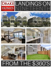 Landings On Nineteenth by Drake Homes Inc., Houston, Texas