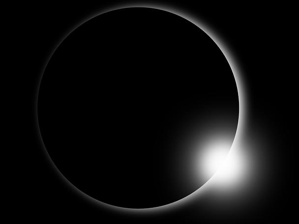 Diamond Ring - Solar Eclipse