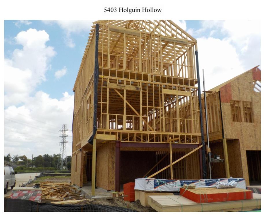 5403 Holguin Hollow - construction