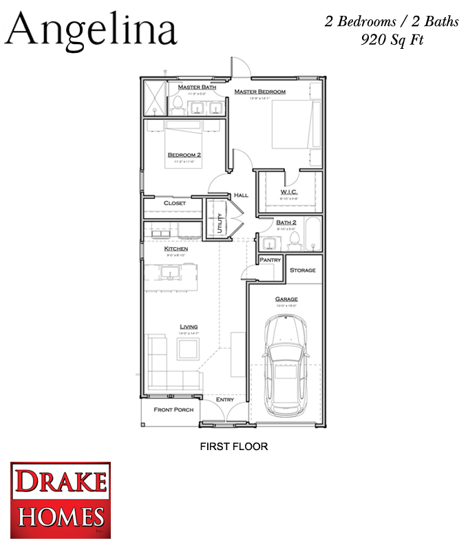 The Angelina Floor Plan