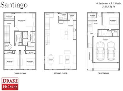 Santiago Floorplan