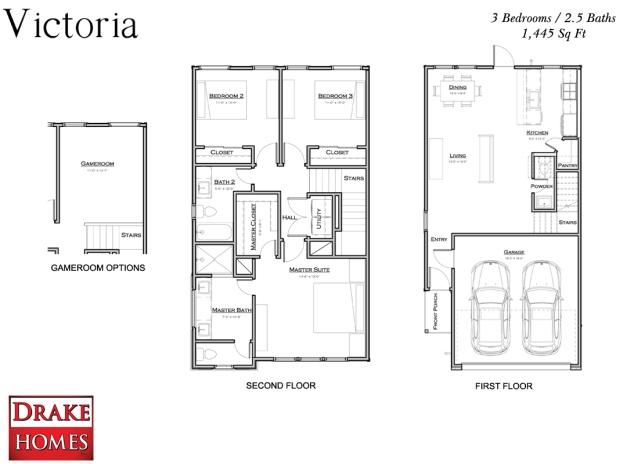 Victoria Plan - Oaks of Lawndale