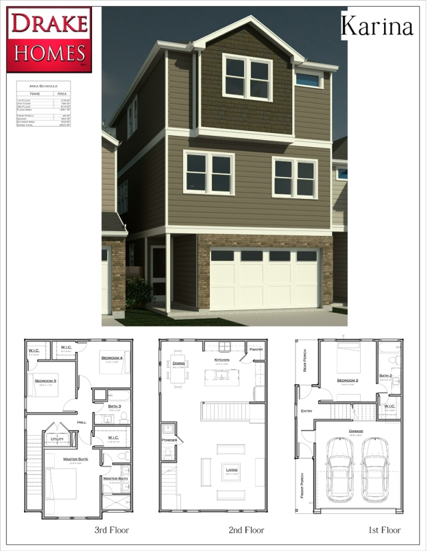 Oaks Of Lawndale - The Karina Floorplan