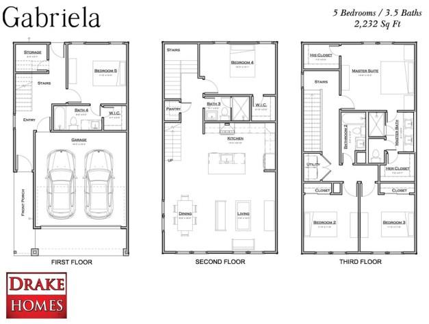 Gabriela- floor plan