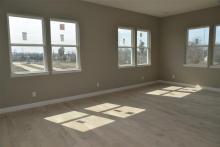 Gabriella floor plan - second floor living area
