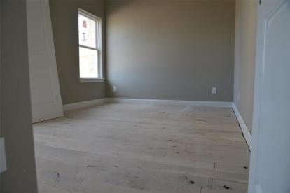 Oak floors - under construction