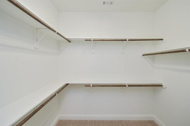 Master Closet - Cedar Creek floorplan