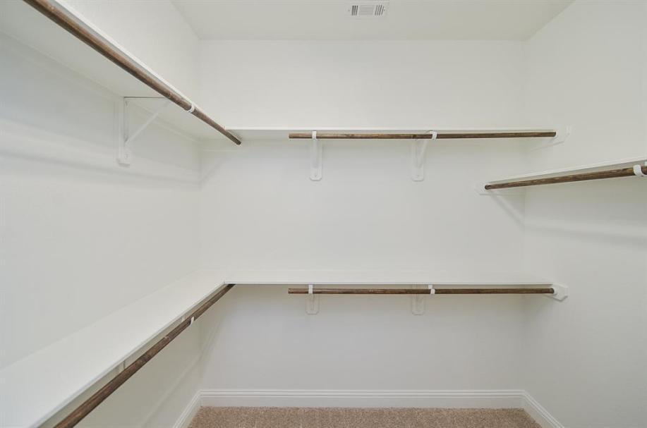 Master Closet - Cedar Creek floorplan
