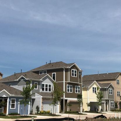 Oaks of Lawndale - Gated community by Drake Homes Inc., Houston, Texas