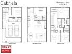Gabriela Floor Plan