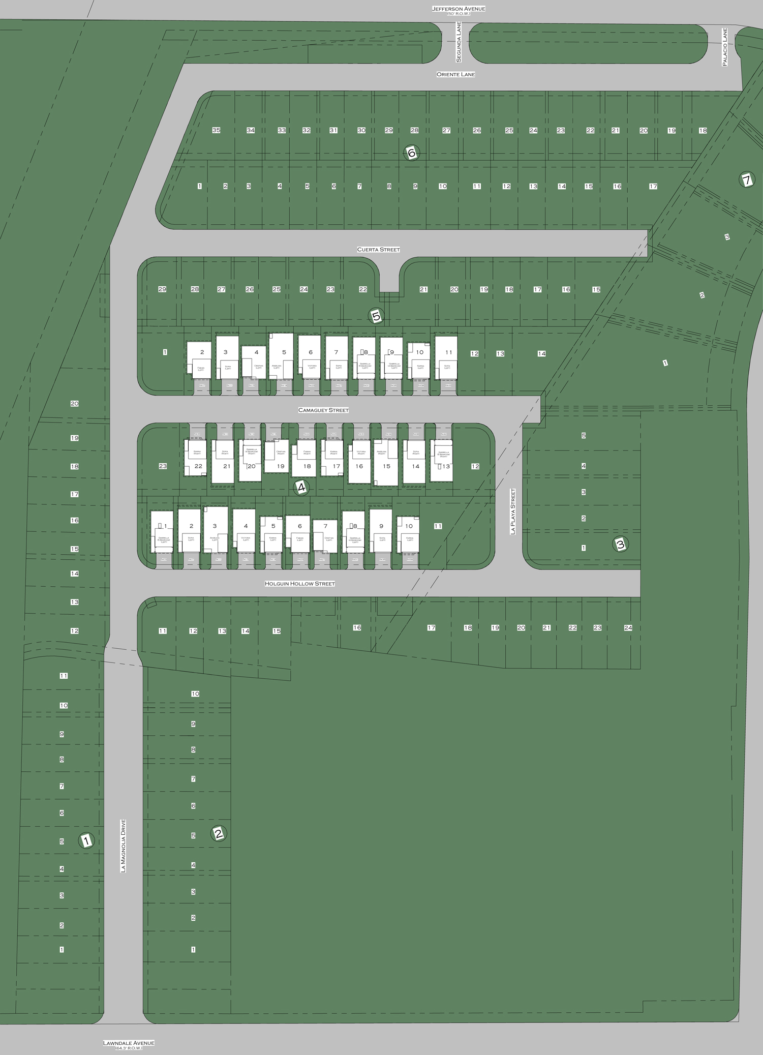 Site Map - Oaks Of Lawndale by Drake Homes Inc.