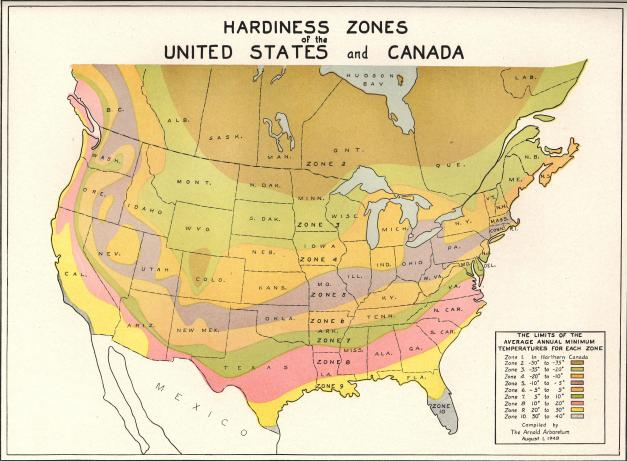 Hardiness Zones