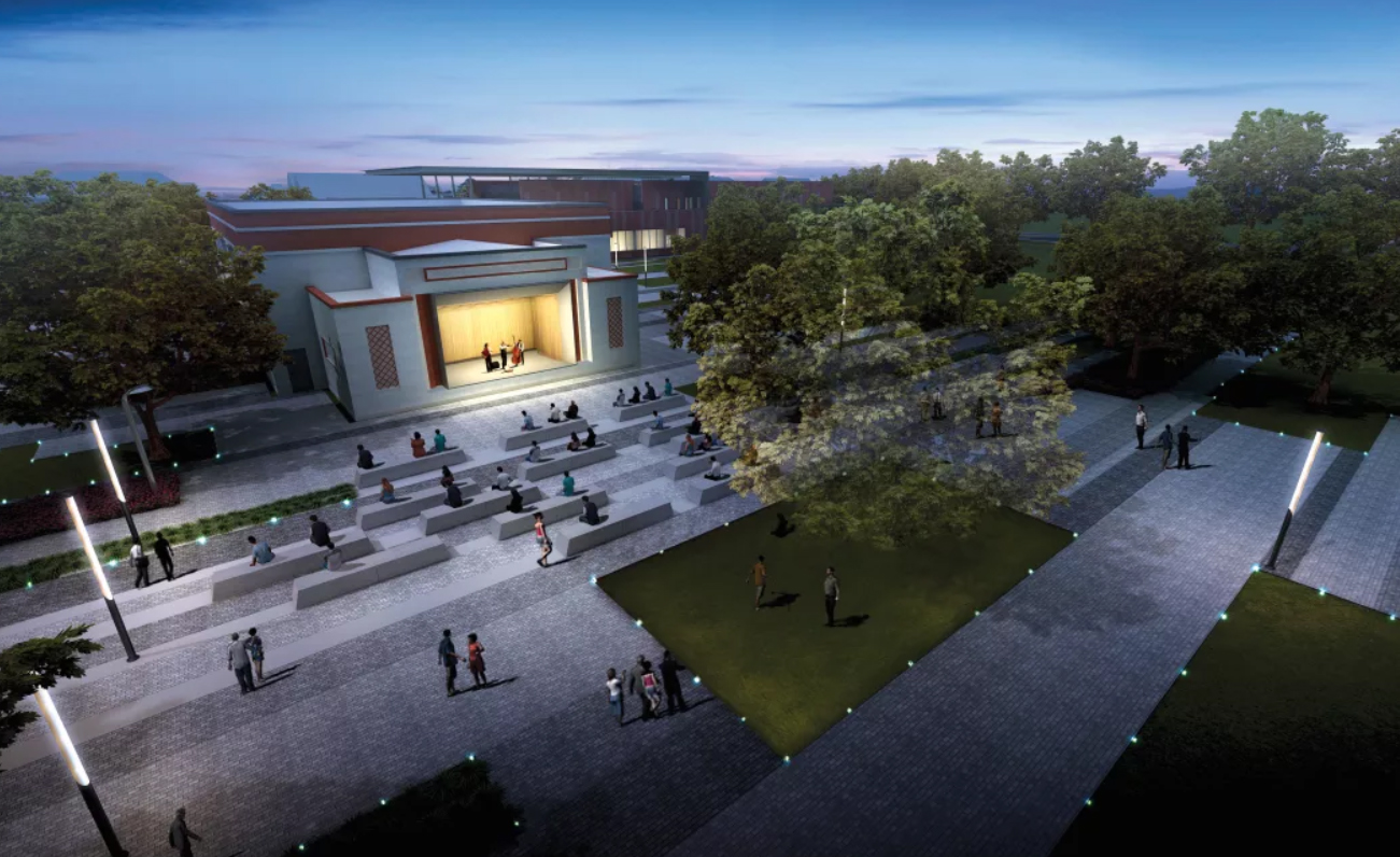 The newly renovation Emancipation Park will look like this.