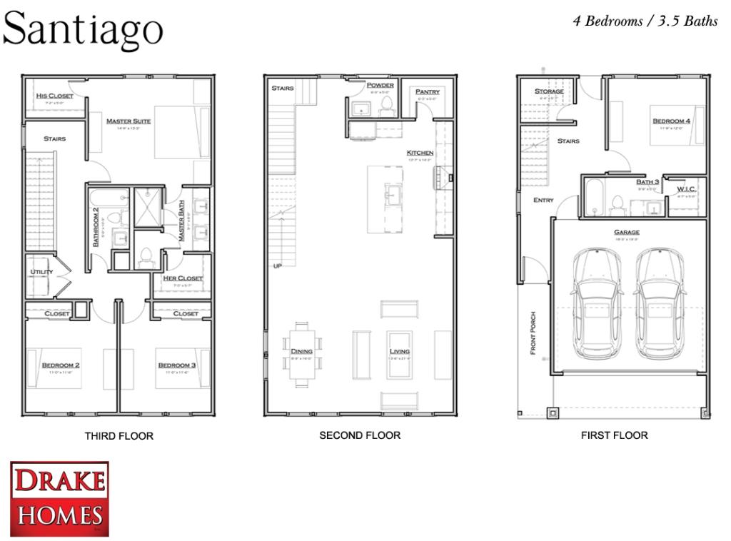 Santiago floor plan