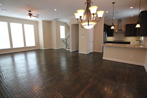 Hand-laid wood floor - Drake Homes Inc.