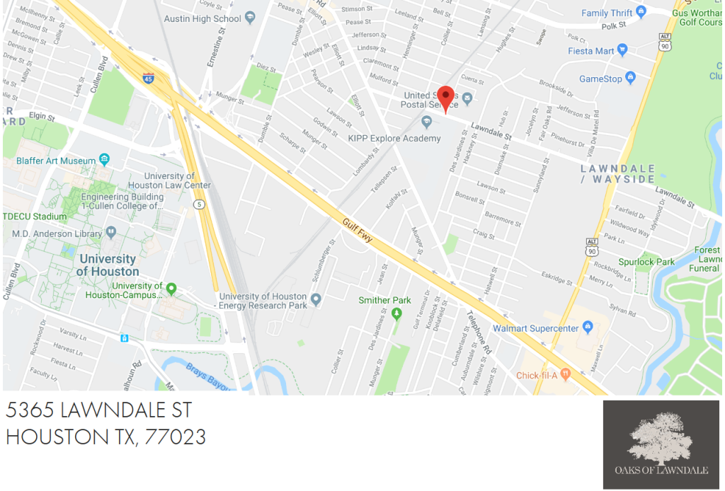 Map - Oaks Of Lawndale