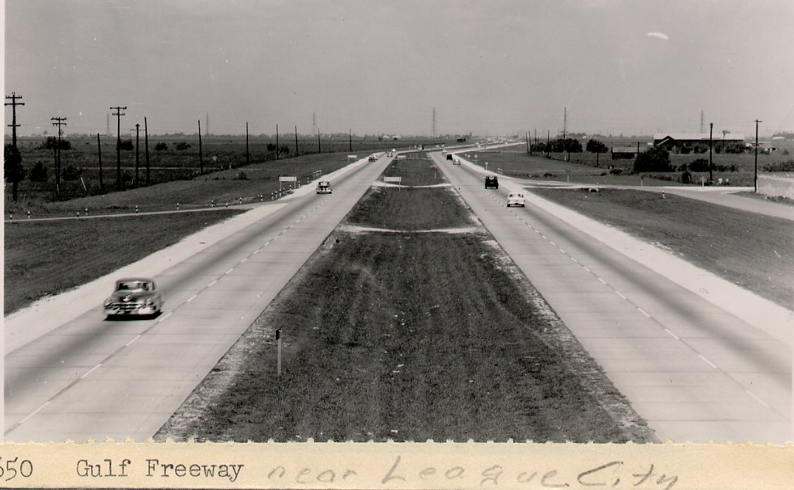 TBT Gulf Freeway 1956 near League City