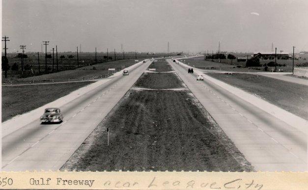 TBT Gulf Freeway 1956 near League City