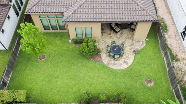 Aerial view -backyard