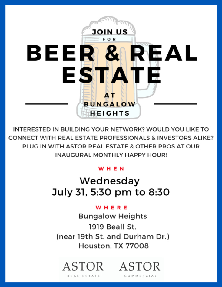 Beer & Real Estate at Bungalow Heights
