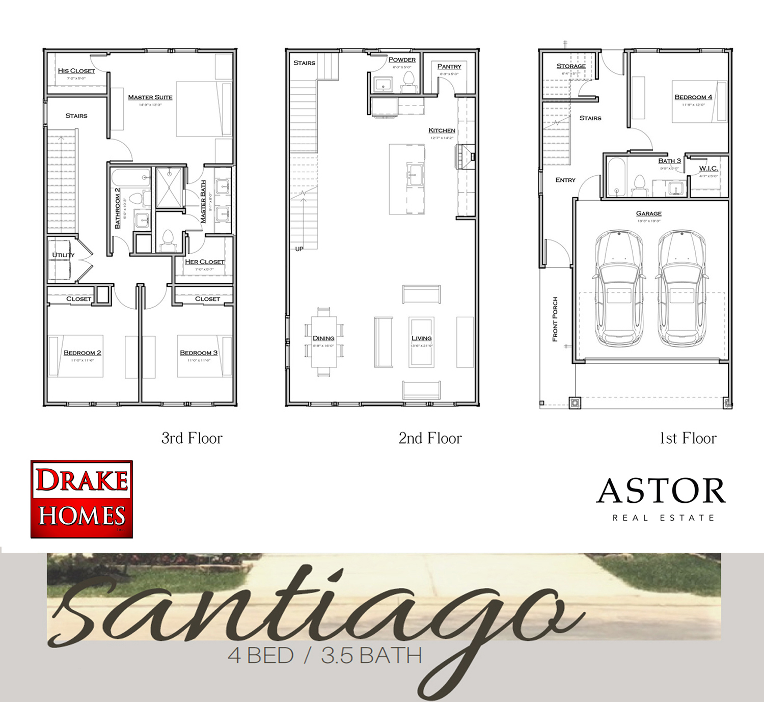 The Santiago Floor Plan