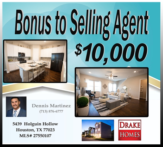 Bonus To Selling Agent
