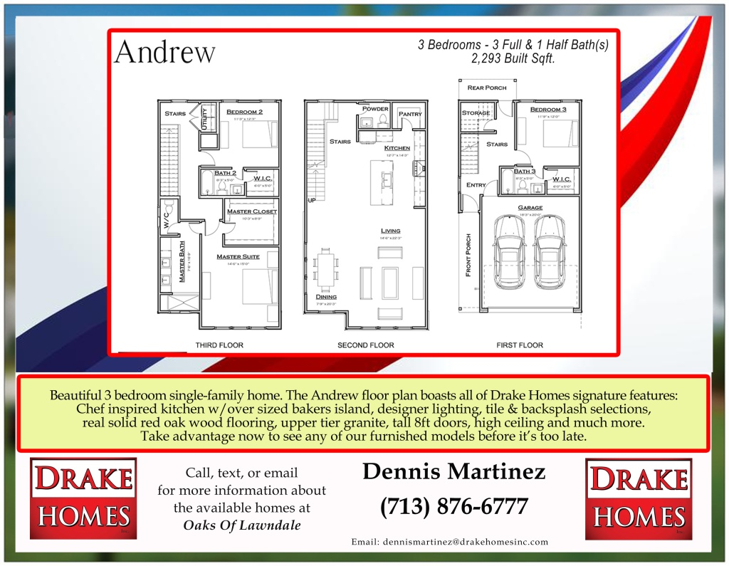 Floor Plan for The Andrew