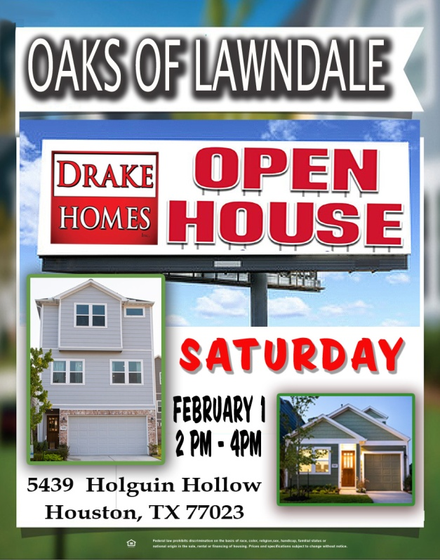 Open House Jan 31 2020