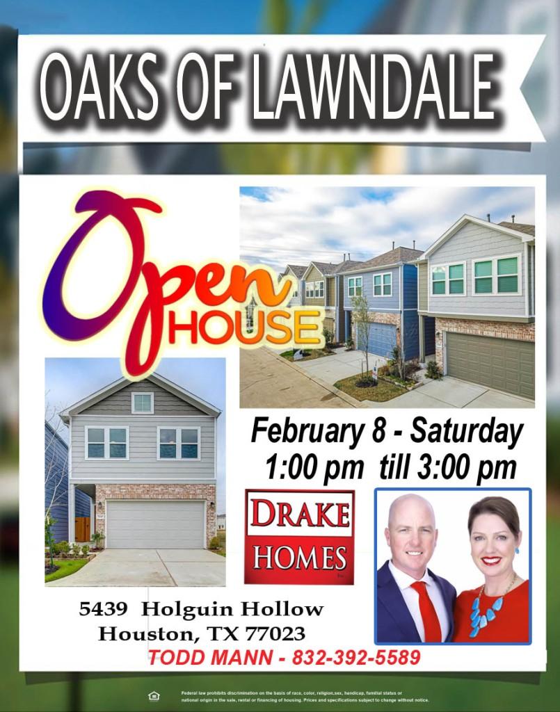 Open House February 8 2020