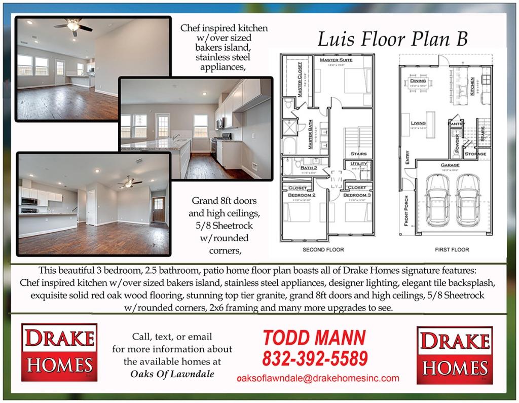Luis Floor Plan - B