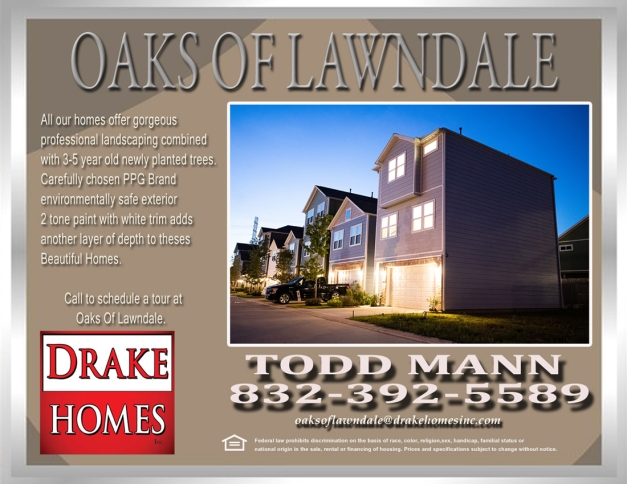 Oaks Of Lawndale flyer