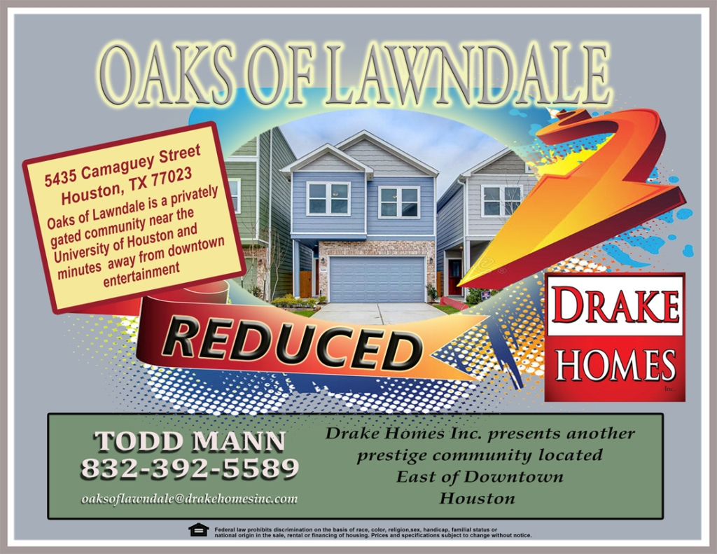 Oaks Of Lawndale Flyerf