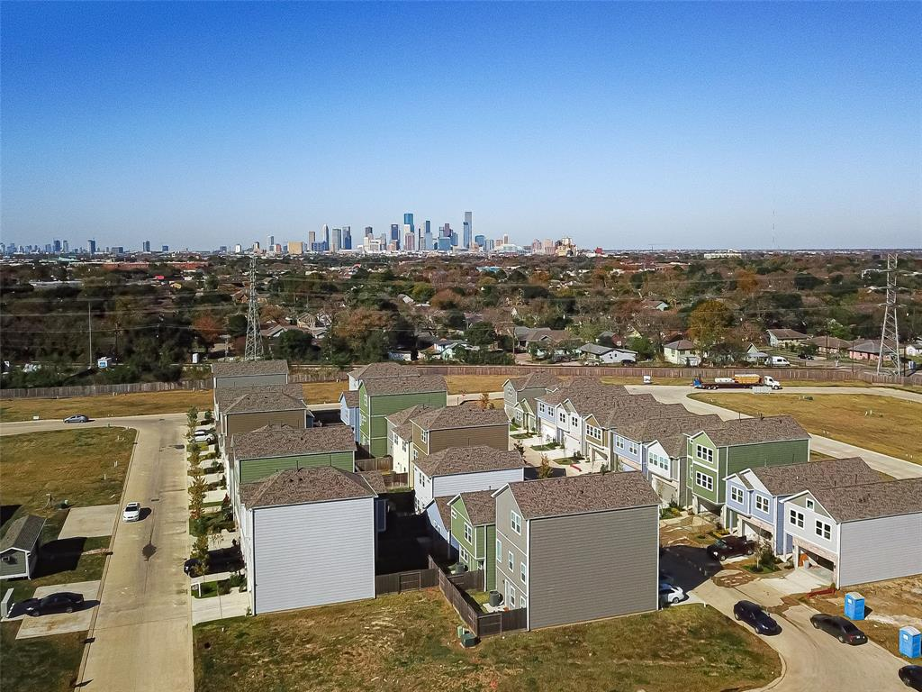 Aerial View Oaks Of Lawndale by Drake Homes Inc.