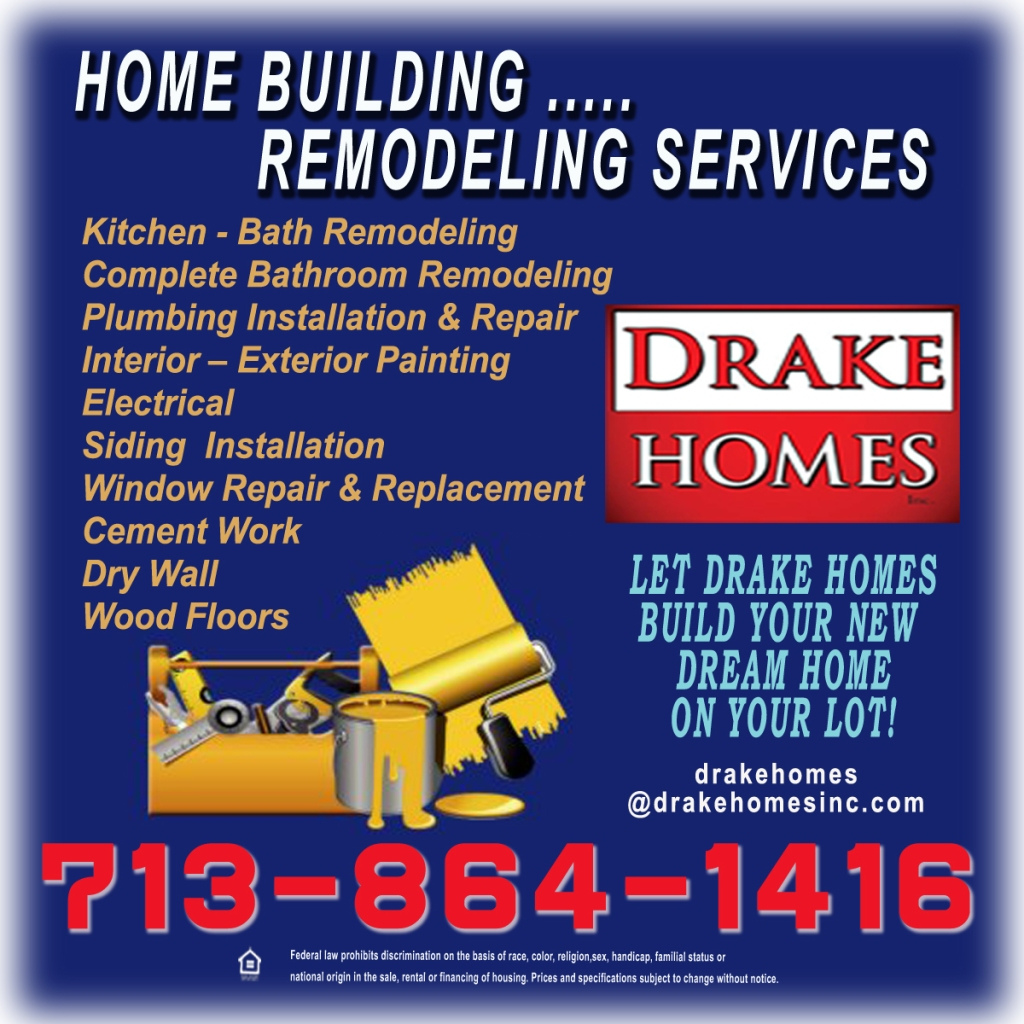 Home building and remodeling services