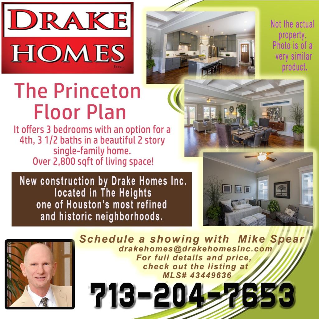Princeton Floor Plan flyer