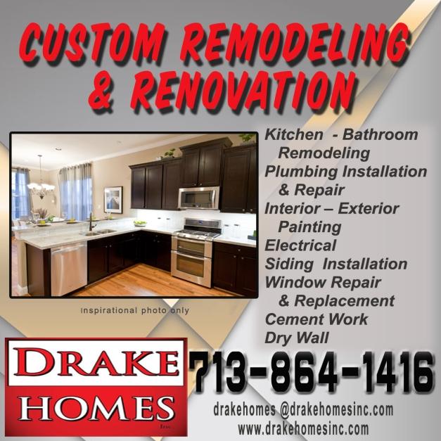 Drake Homes Inc Remodeling