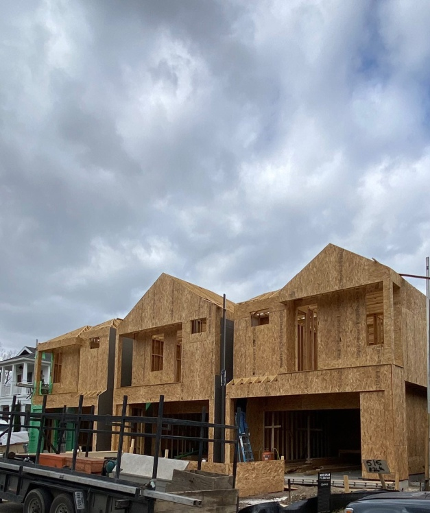 Homes in the Heights - construction photo