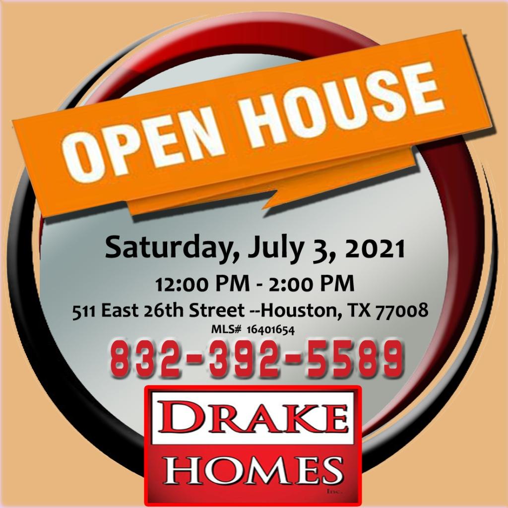 Open House July 3, 2021